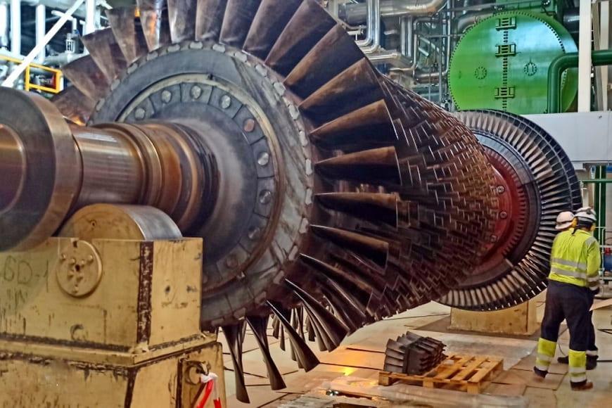 Выполнен первый этап капремонта парогазового энергоблока ПГУ-190 на Новомосковской ГРЭС