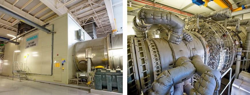 Газовая турбина Siemens SGT-800