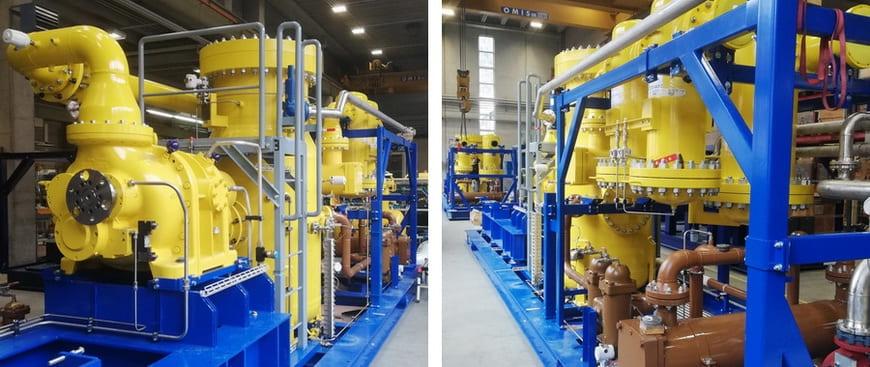 Газокомпрессорные установки на этапе заводской сборки
