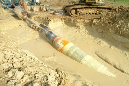 Механическая и антикоррозионная защита трубопроводов материалом Fibertec