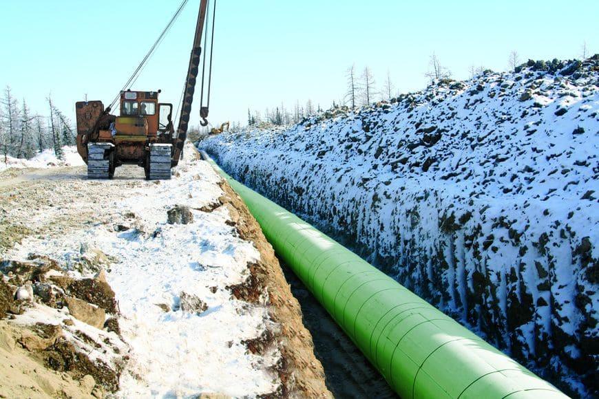 Применение ЭкстраСЕГМЕНТ для теплоизоляции трубопровода Д1420 на участке Заполярное КС Пуртазовская