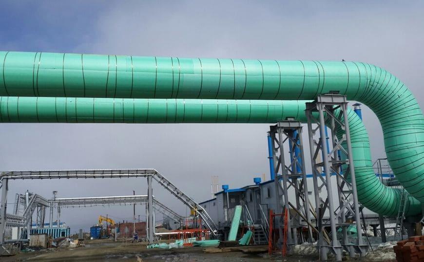 Применение теплоизоляционных изделий «Экстрол» на компрессорной станции «Байдарацкая»