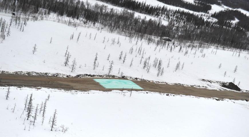 Строительство федеральной трассы Салехард-Надым с использованием теплоизоляционных плит марки «Экстрол 45»
