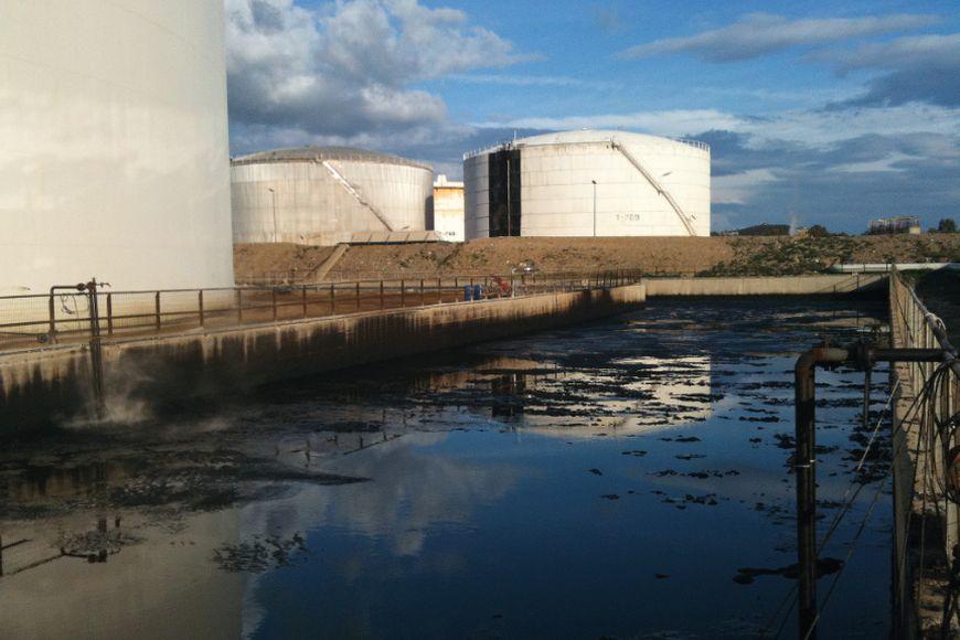 Нефтешламовый амбар