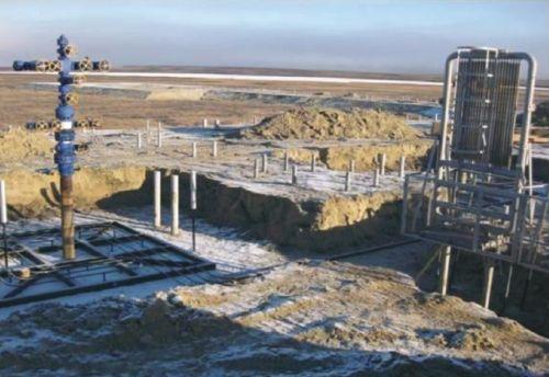 Температурная стабилизация грунтов оснований газовой скважины при помощи системы «ВЕТ». Бованенковское месторождение, 2008 г.