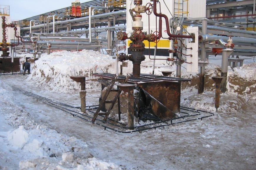 Система «ВЕТ» на нефтяной скважине куста №1 Ванкорского месторождения