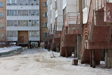 Проветриваемое подполье производственных и жилых зданий