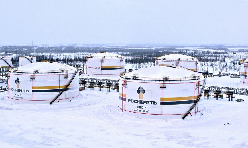 Резервуары V=20 000 м3 на бессвайных основаниях с Системами охлаждения. Ванкорское месторождение
