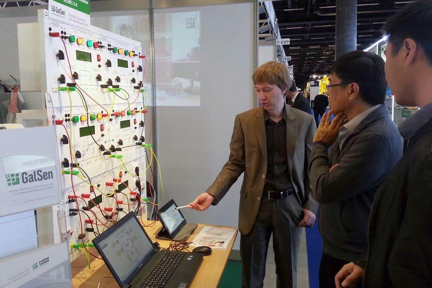 Российское оборудование вызвало интерес на Worlddidac Basel 2014