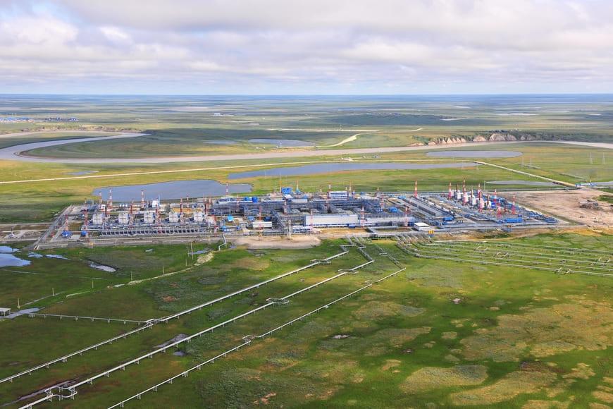Бованенковское нефтегазоконденсатное месторождение в ЯНАО. Фото ООО «Газпром добыча Надым»