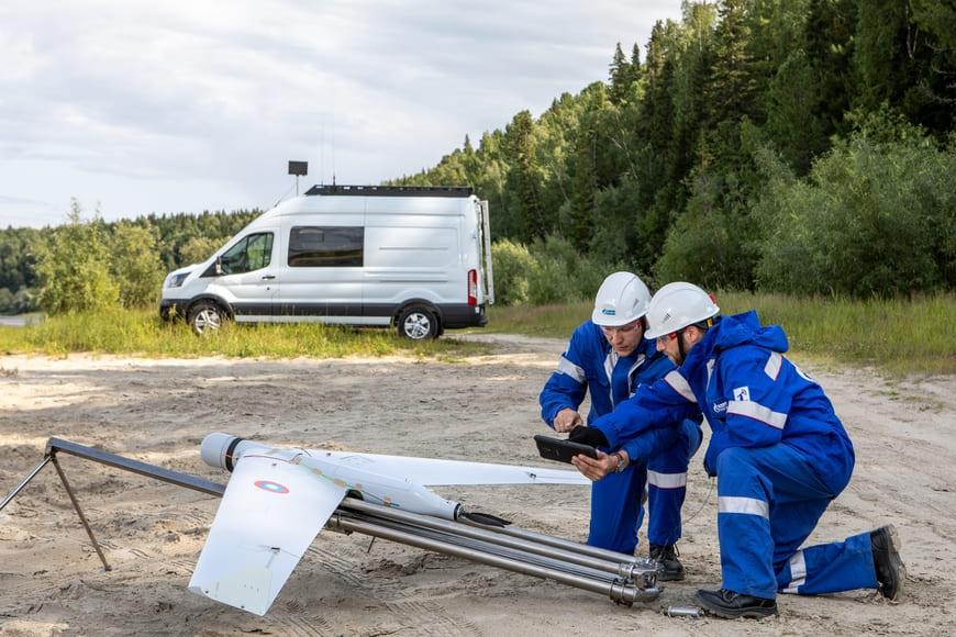 «Газпром нефть» использует беспилотное воздушное судно для мониторинга нефтепроводов и производственной инфраструктуры в ХМАО