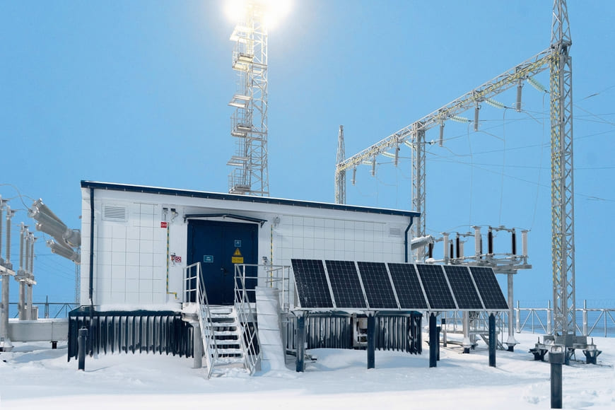 Уникальная цифровая подстанция введена в эксплуатацию на Новопортовском месторождении «Газпром нефти»