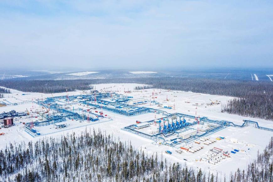 Установка подготовки нефти Чаяндинского месторождения