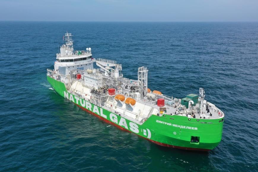 СПГ-бункеровщик «Газпром нефти» прошел ходовые испытания