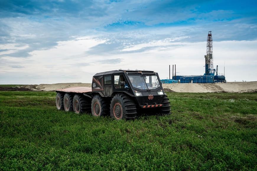 «Газпром нефть» успешно испытала грузовые вездеходы на Восточной Мессояхе