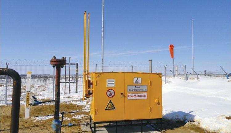 Блок подготовки газа (о. Сахалин)