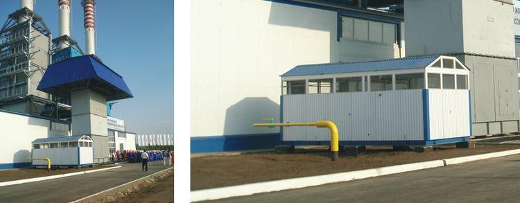 БПГ газотурбинной установки (г. Уральск, Казахстан)