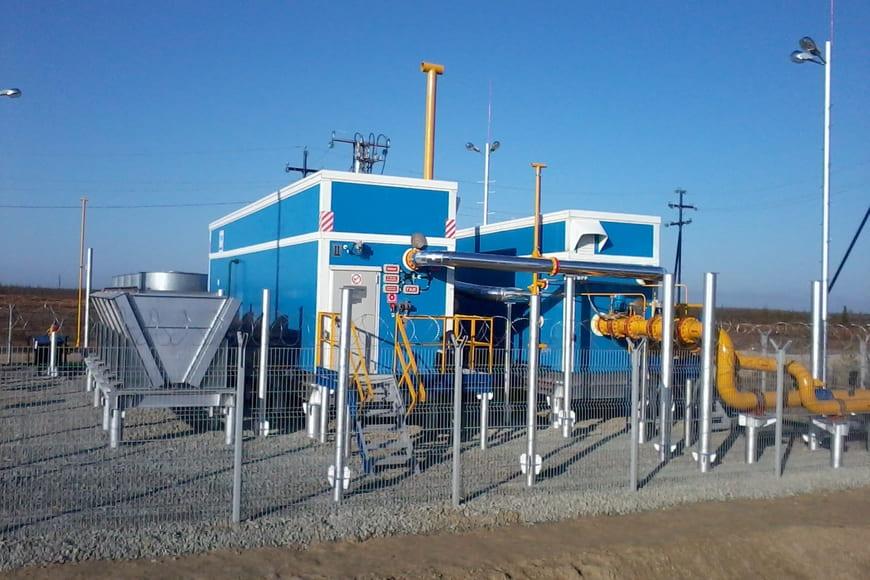 компрессорная установка для добычи и сбора низконапорного газа на Вынгапуровском месторождении ООО «Газпром добыча Ноябрьск»