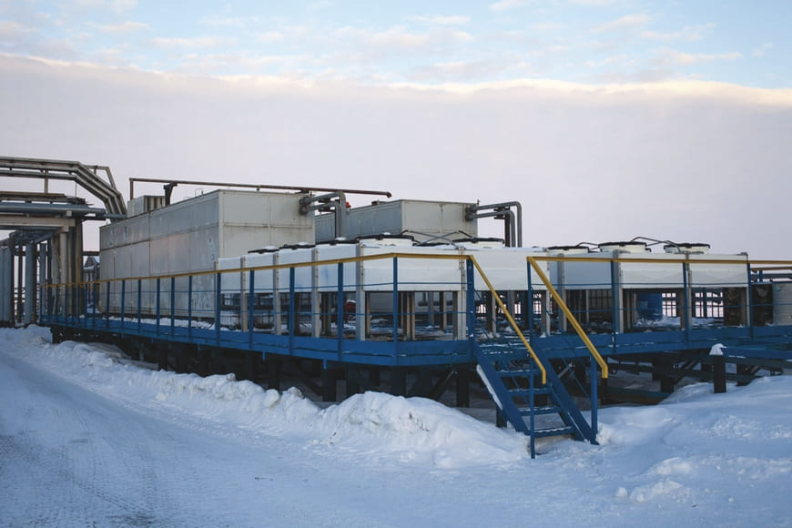 дожимная компрессорная установка для сбора ПНГ на Тэдинском месторождении ОАО «ЛУКОЙЛ»