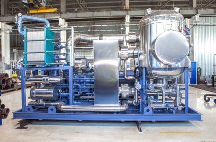 холодильные машины для охлаждения жидкости Grasso Chiller тип FXPP 1500 NH3 для ОАО «Волжский оргсинтез»