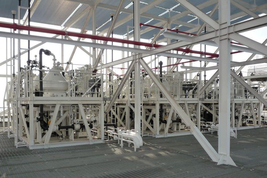 Центробежные тарельчатые сепараторы GEA для подготовки нефти