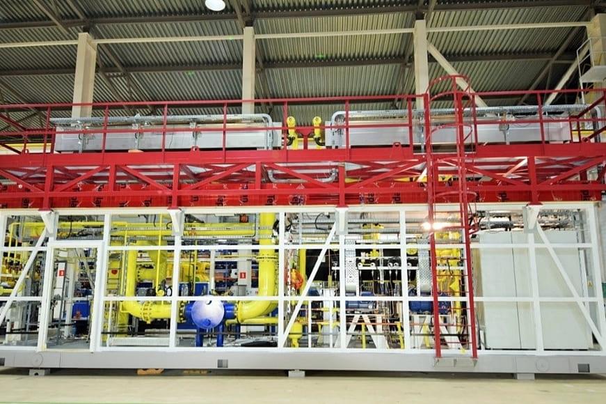 Подготовка попутного нефтяного газа перед сжатием в компрессоре для подачи на ГТЭС-28 Восточно-Перевального месторождения