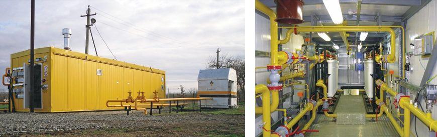 Мембранная газоразделительная установка МГБ-2.5-95.0-1500