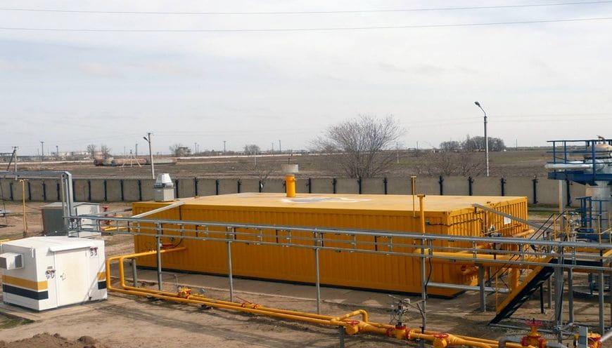 Промышленная мембранная газоразделительная установка для ООО «РН-Ставропольнефтегаз»