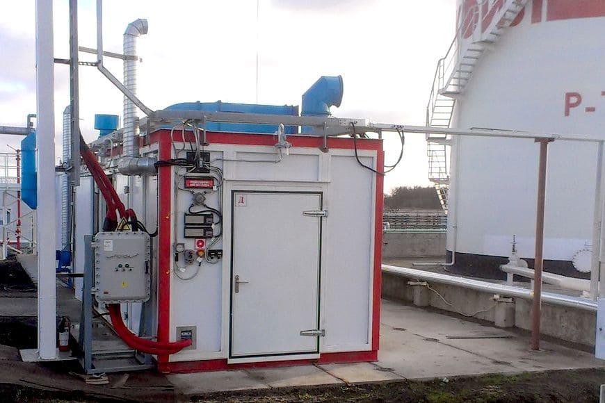 Промышленная мембранная газоразделительная установка для ООО «ЛУКОЙЛ-Калининградморнефть»