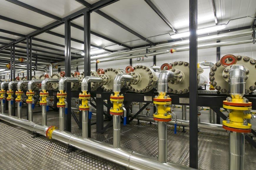 Мембранные установки подготовки попутного нефтяного и природного газа НПК Грасис