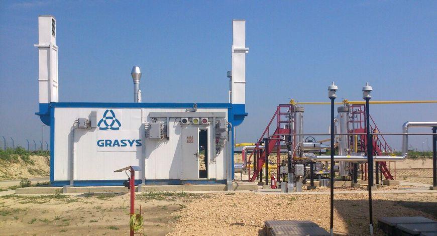 Установка подготовки смеси природного и попутного нефтяного газа НПК «Грасис», подготовка газа до требования СТО «Газпром» 089-2010 на месторождении