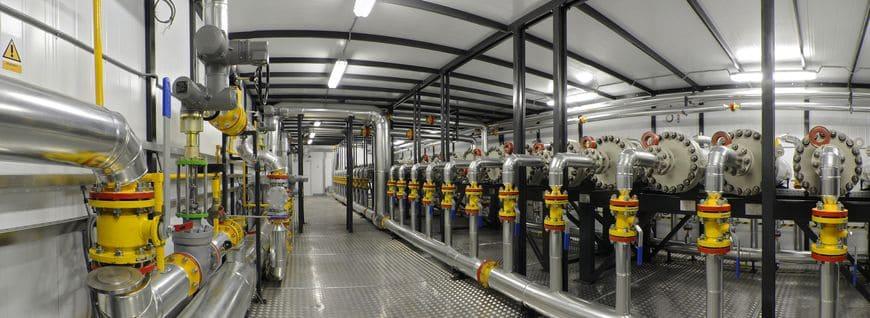 Установка подготовки смеси природного и попутного нефтяного газа НПК «Грасис», подготовка газа до требования СТО «Газпром» 089-2010 (до требуемого остаточного содержания CO2 и N2