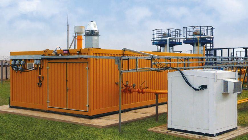Установка подготовки попутного нефтяного газа НПК «Грасис» до требований СТО «Газпром» 089-2010 (по содержанию сероводорода, ТТР по воде, у/в)
