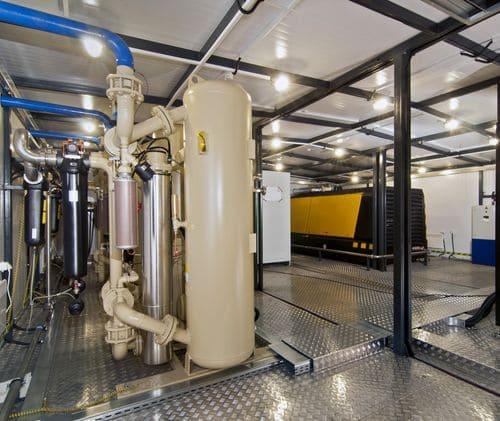 Блочная компрессорная станция НПК «Грасис» для компримирования воздуха