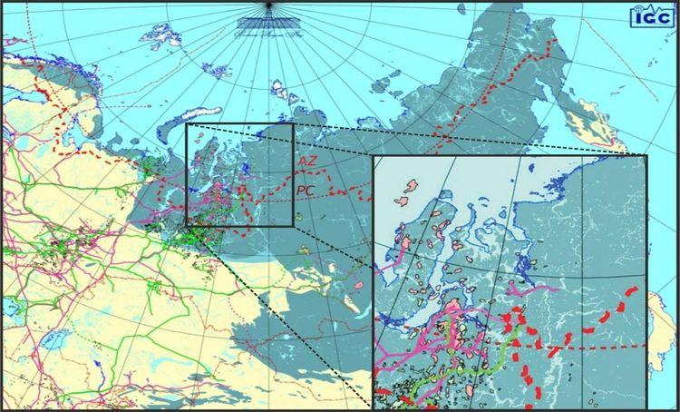 Континентальная Арктика Российской Федерации