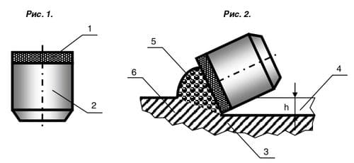 Резец PDC с монолитной плоской алмазной пластиной и цилиндрической твердосплавной подложкой