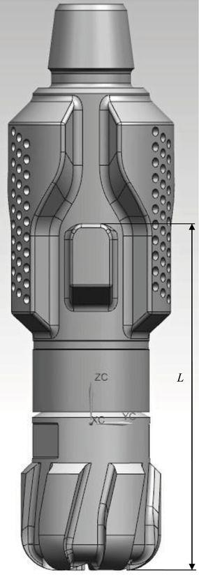 Общий вид бурового калибрующего эжекционного агрегата