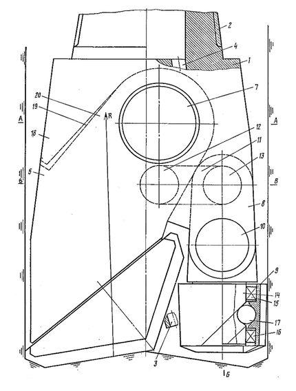 Комбинированное долото малого размера для бурения боковых стволов