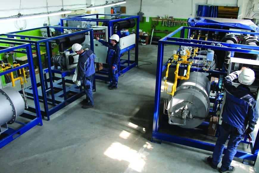 производство промышленных парогенераторов