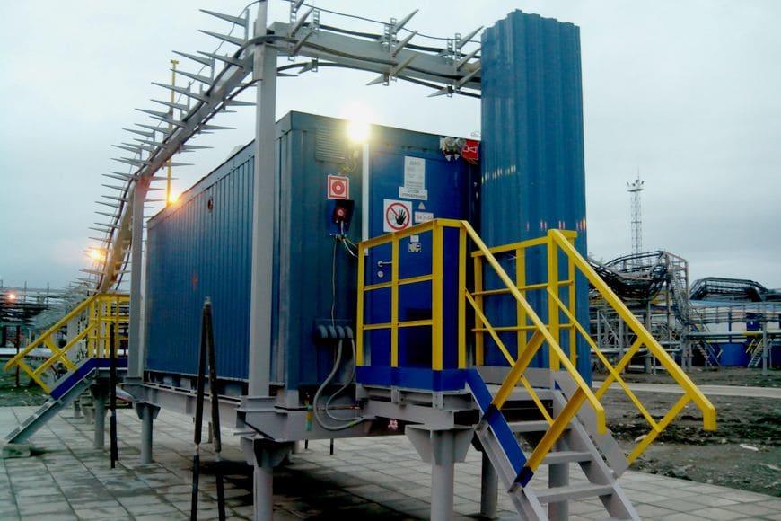 Установки подготовки импульсного газа