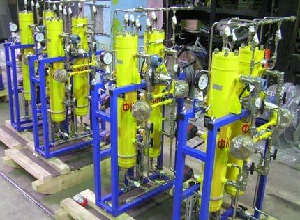 Блоки фильтров топливного газа