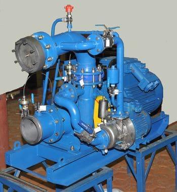 Насосная установка УОДН 300-200-150 с элементами самовсасывания
