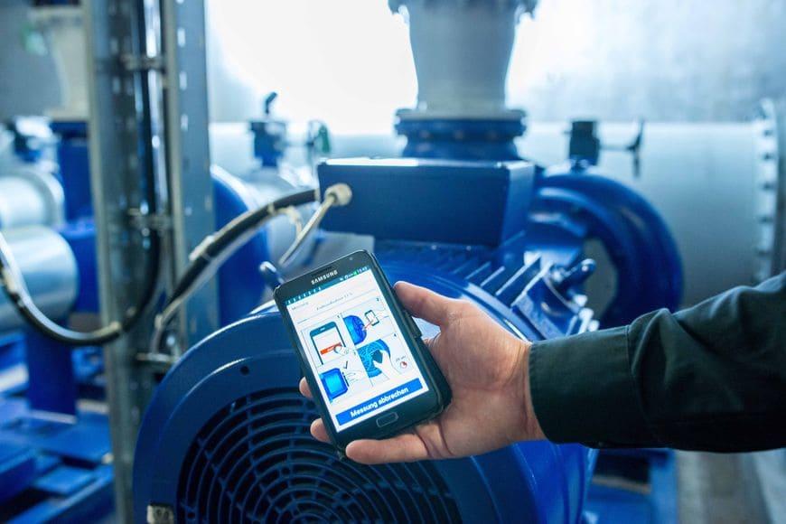 приложение Sonolyzer для предварительного аудита и оценки эффективности нерегулируемых насосов с асинхронным двигателем любого производителя