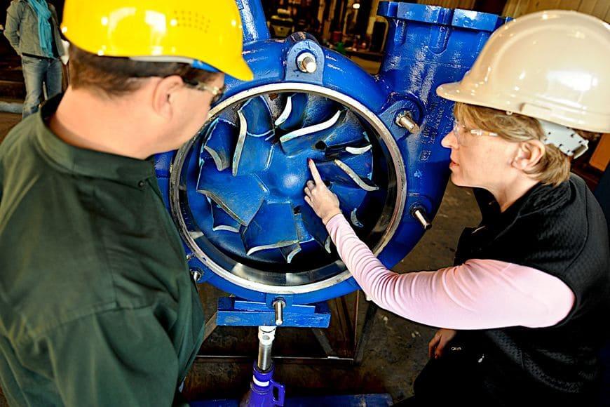 Рабочее колесо насоса HVF предотвращает образование воздушных пробок при перекачивании пенных шламов