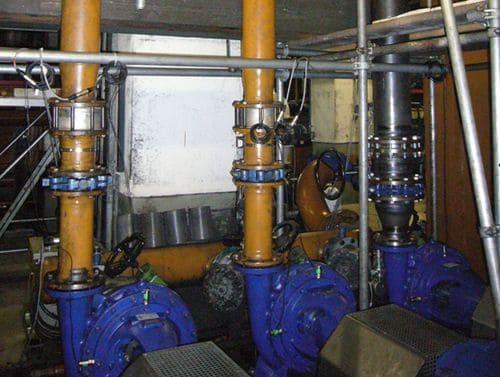 Насосы типа Eta -R 125-500 прокатного стана