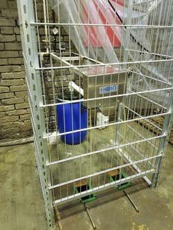Скиммер 1UV на очистных сооружениях моечного поста депо
