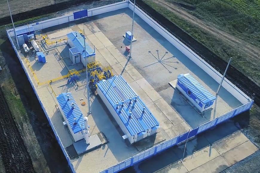 Первую в России «умную» газораспределительную станцию производства челябинского завода ОМК ввели в промышленную эксплуатацию