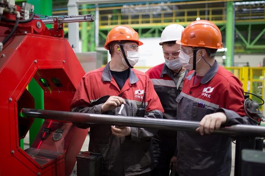 ОМК одной из первых в России начала производство электросварных насосно-компрессорных труб малого диаметра