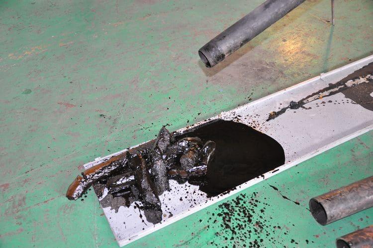 Самопроизвольная очистка НКТ от АСПО после наружной очистки