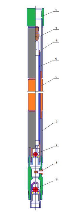 Насос невставной скважинный штанговый с коротким цилиндром типа ННБКУ